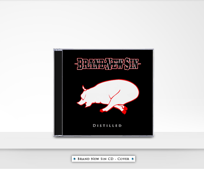 Brand New Sin CD - Cover